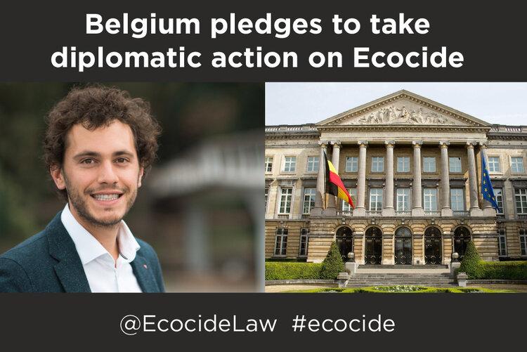 Belgien tar ställning för ekocidlagstiftning